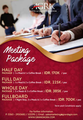 MEETING PACKAGE 2020
