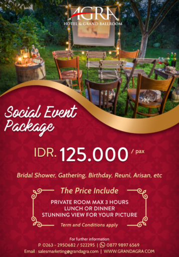 SOCIAL EVENT PACKAGE 2021